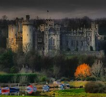 Arundel Castle With Orton In Autumn by jakeof
