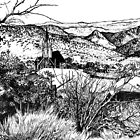 Virginia City Nevada 1976 by Elaine Bawden