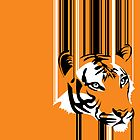 Barcode Tiger by Moncs