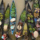 Lokbaintan Floating Market - South Borneo, Indonesia by Aulia  Rahman