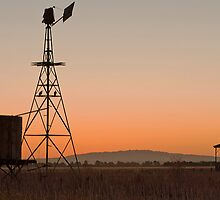 Sundown in Rural Victoria by Hicksy