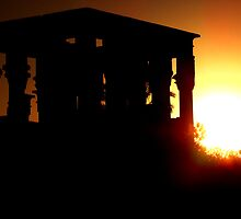 Philae Silhouette by Paige