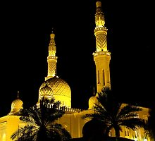 Jumeirah Mosque by Paige