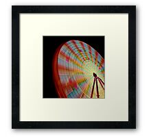 A Swirl of Colour 2 Framed Print