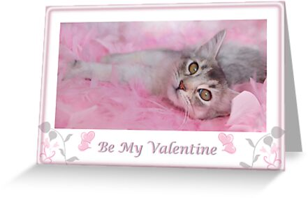 Valentine Kitty by sarahnewton