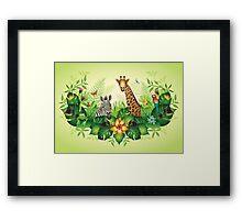 Jungle Magic Framed Print