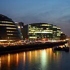 City Halll At Night by pixeljar