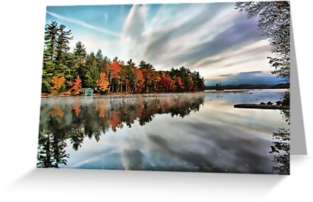 Highland Lake - Bridgton, Maine by T.J. Martin