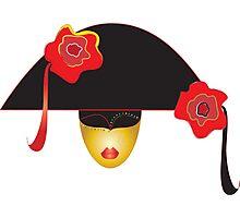 venice mask  Photographic Print