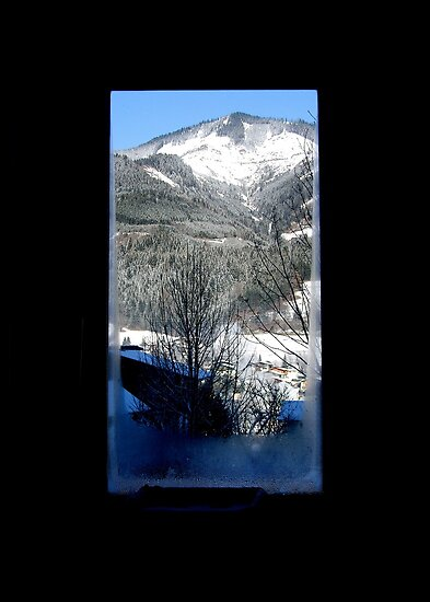 AUSTRIA VIEW WINDOW by Scott  d'Almeida