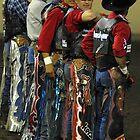 Bull Riders by ElfinYeti