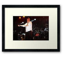 Jimmy Barnes & Cold Chisel Reunites Framed Print