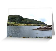 Fishing on the Lakes of Killarney - Kerry, Ireland Greeting Card