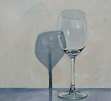 Wine Glass Shadow by CatSalter