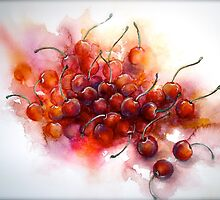 Cherries.. Riper Yet... by © Janis Zroback