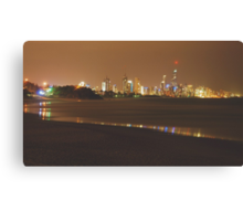 ELECTRIFY VIEW Canvas Print