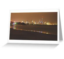 ELECTRIFY VIEW Greeting Card