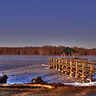 Fishing Pier by Kate Adams