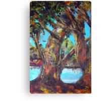 original oil painting  Canvas Print