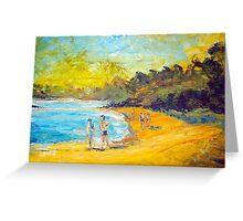 original oil painting Greeting Card