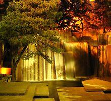 Forecourt Fountain by Dale Lockridge