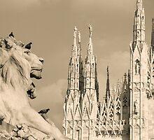 Duomo of Milan, Italy. by Ligak