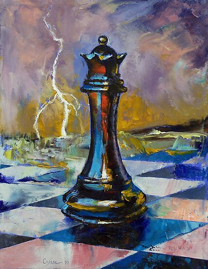 Queen of Chess by Michael Creese