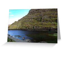 Mountain Lake - Gap of Dunloe, Kerry, Ireland Greeting Card