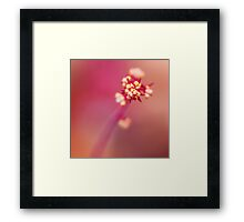 for every minute you are angry you lose sixty seconds of happiness... Framed Print