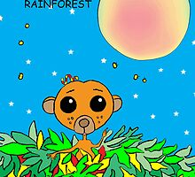 SAVE THE RAINFOREST by ANNART