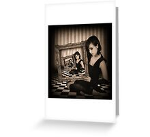 The Narcissist Greeting Card