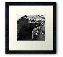 turn your back on mother nature Framed Print