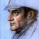 Sherlock Holmes by Josef Rubinstein