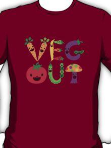 Veg Out - light colors T-Shirt
