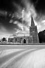 Skyward Church BW by Andy Freer