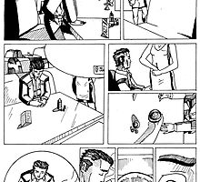 HSC Major Work Comic page 1 by Michael Lee