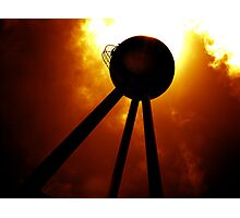 Tripods - The Fire Mountains Photographic Print
