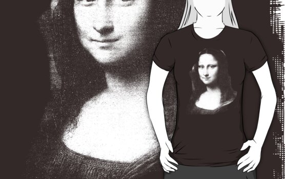 mona lisa by ralphyboy