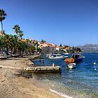 Korčula Waterfront by Tom Gomez