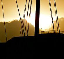 Mast Sunset by skyhat