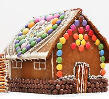 Gingerbread House by magnetik
