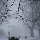 A misty churchyard by Gemma  Simpson
