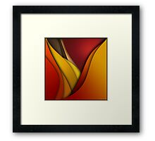 always look at the bright side of life Framed Print