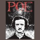 Portrait of Poe Tee by Pete Janes