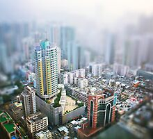 Hong Kong Cityscape View by Simon Le
