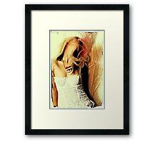 sweet and heady Framed Print