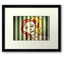Trapped  Framed Print