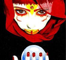 Tribal II - Witch by Lynsye Medalia
