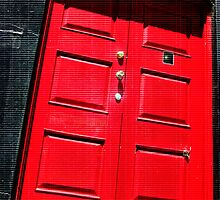 une porte plus rouge by vampvamp
