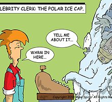 Celebrity Clerk: The Polar Ice Cap by Mike Spicer